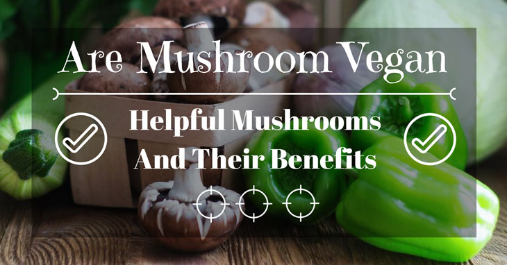 are mushrooms vegan