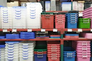 how to organize your storage shed - Storage Boxes