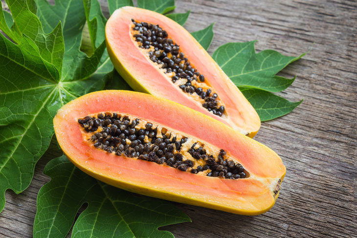 how to ripen a papaya 001