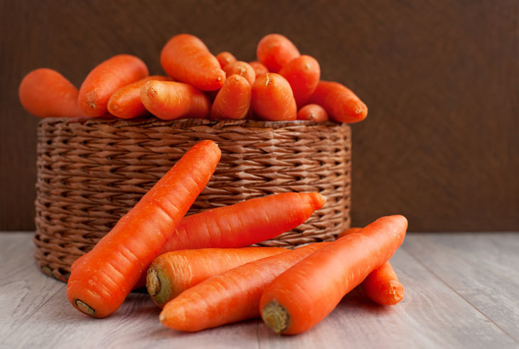 how long do carrots last - Unsorted Carrots