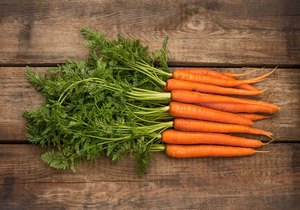 when are carrots ready to pick - Checking the Texture of the Carrot